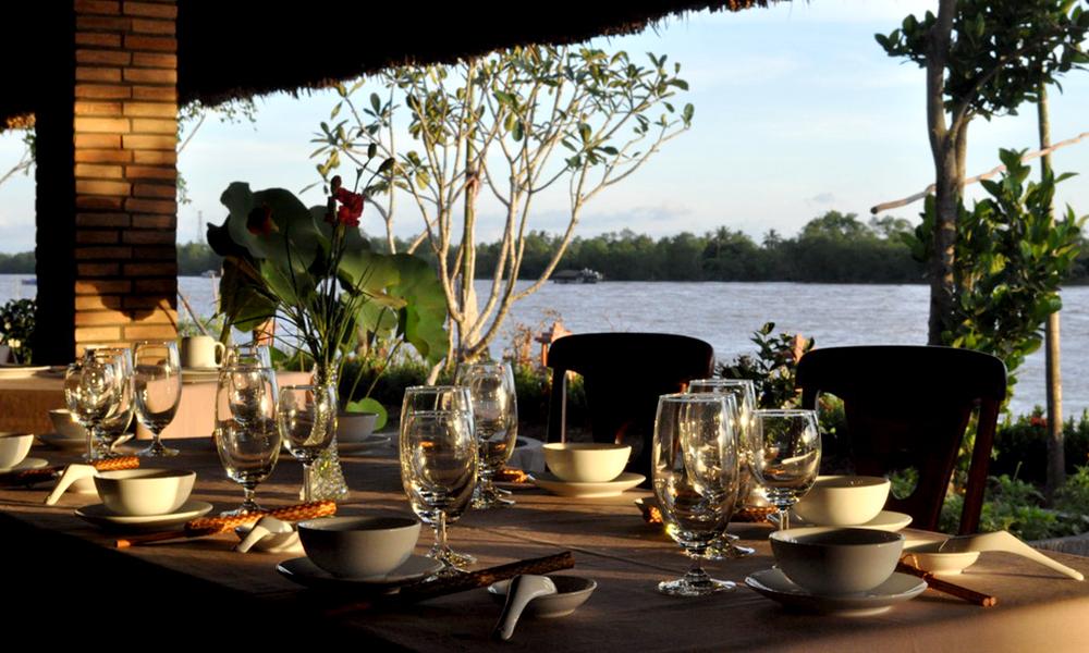 cours de cuisine et detente au mekong lodge deux jours une nuit hgh travel. Black Bedroom Furniture Sets. Home Design Ideas